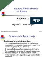 CAP12 Regresion Lineal Simple