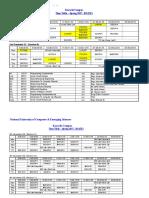 EE Dept Timetable Spring 17 V1.1