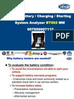 Magneti Marelli Battery Tester BT002 EN