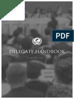 delegate handbook - camun 2016