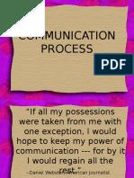 Intro to Communication Process