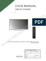 9619 Pioneer PLE42FMN2 Chassis 8M51B Televisor LCD Manual de Servicio