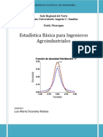 Probabilidad Estadistica Ing Aroindustrial