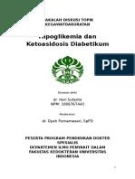 Hipoglikemia dan KAD