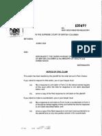 Bartoli Lawsuit