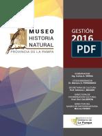 MHNLPam Gestión 2016