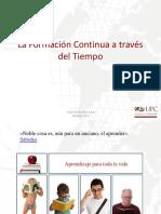 Formacion Continua Atraves Del Tiempo UPC