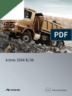 Actros 3344K 6x4