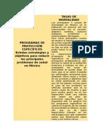 Programas de Protección Específicos