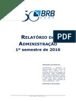 Relatório Da Administração - 1s2016 Versão Final