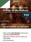 Control H2S Planta Moly