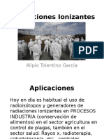 Exposición radiaciones ionizantes