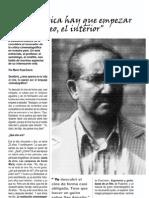 El lenguaje cinematográfico, entrevista a Desiderio Blanco