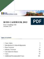 Ross CaseBook 2013
