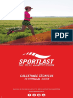 Catálogo de calcetines técnicos Sportlast 2017