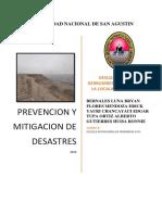 Trabajo Final Grupo 5 Derrumbe en El Valle de Sihuas -Arequipa
