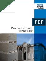 Panel de Cemento Perma Base
