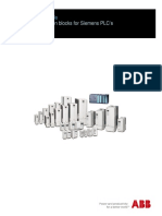 ABB Drives Function Blocks for Siemens PLCs Quick Start-up Guide a A4