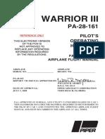 PA 28 161 Warrior III