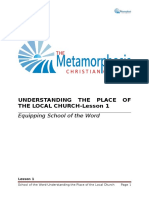 Understanding the Place of the Local Church