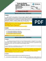 CCJ0053 WL B TRAB 01 Teoria Geral Do Processo Respostas Plano de Aula
