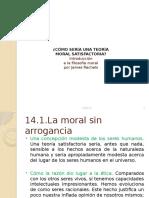 Teoría moral satisfactoria