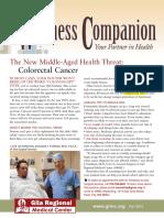 grmc wellness companion - fall 2015
