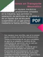 Ciclones en Transporte Neumático.pptx