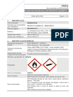 FISPQ - Hidrogênio