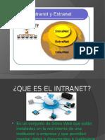 Presentacion Intranet Internet y Extranet