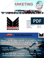 Final Ppt of Maruti