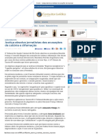 ConJur - Justiça Absolve Jornalistas de Acusações de Empresas