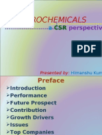 Petrochemicals-a CSR perspective