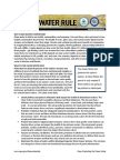 EPA Clean Water Fact Sheet -- backed up EPA doc -- Summary Final 1