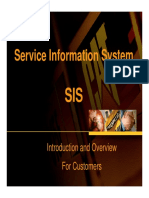 Introduction to SIS Basics for Customers 2010a