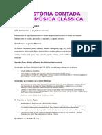 A História Contada Pela Música Clássica