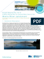 watts river catchment