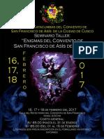 Seminario Taller enigmas del Convento de San francisco de Asís-Cusco