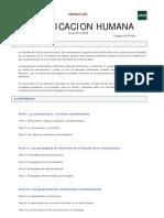 Asignatura- Comunicacion Humana