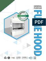 FH GP General Purpose Fume Hood AD 1.6