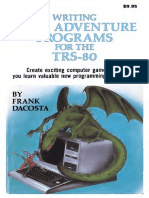 Writing BASIC Adventure Programs for the TRS-80 1982