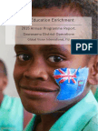 Education Enrichment Annual Report 2015 - Compact