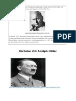 Source Based Analyses _ Nazism & Fascism