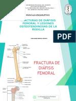 Fracturas de Diáfisis Femoral y Lesiones Osteotendinosas De