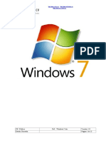 Informe Windows 7