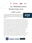 Live Leak - IPPB Mains Model Question Paper (Based on Predicted Pattern).docx