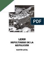 Lenin Sepulturero de La Revolucion
