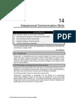 Interpersonal Communiucation Skills