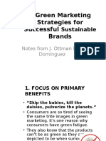 6 Green Marketing Strategies for Successful Sustainable Brands
