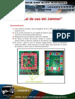 Manual de Uso Jammer Slot Machine